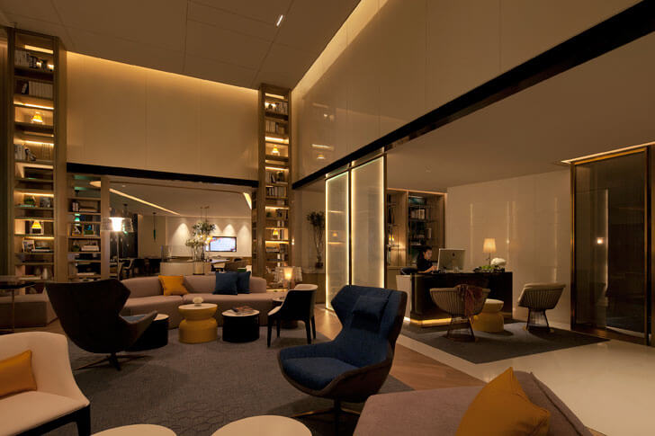 """Executive lounge Beijing Hotel GD lighting design indiaartndesign"""