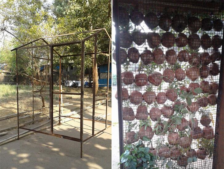 """""""vertical garden coconut house jayneel trivedi indiaartndesign"""""""