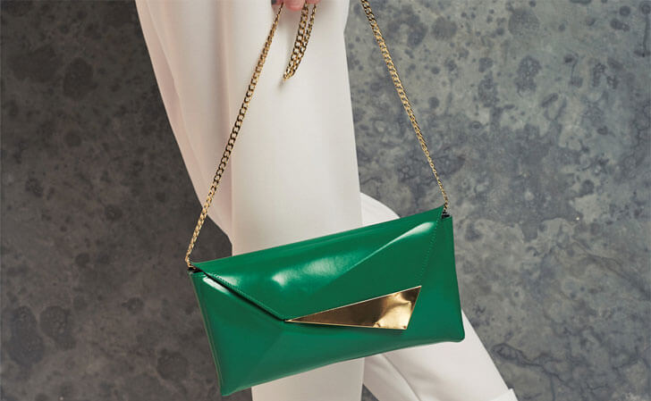 """green clutch indiaartndesign"""