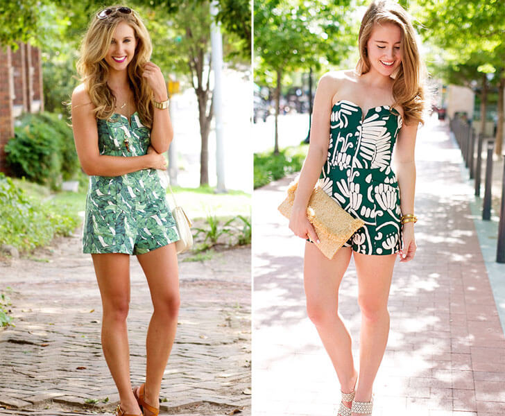 """green summery prints indiaartndesign"""
