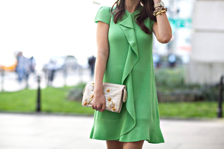 """green trendy dress for any occasion indiaartndesign"""