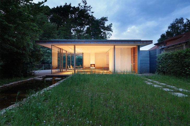 """waterbody House-rheder Falkenberg Innenarchitektur indiaartndesign"""