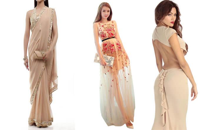 """nude fashion trend indiaartndesign"""
