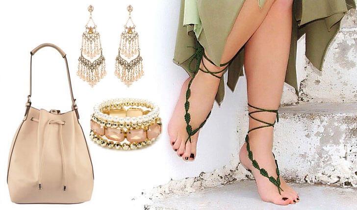 """""""nude sandals accessories indiaartndesign"""""""