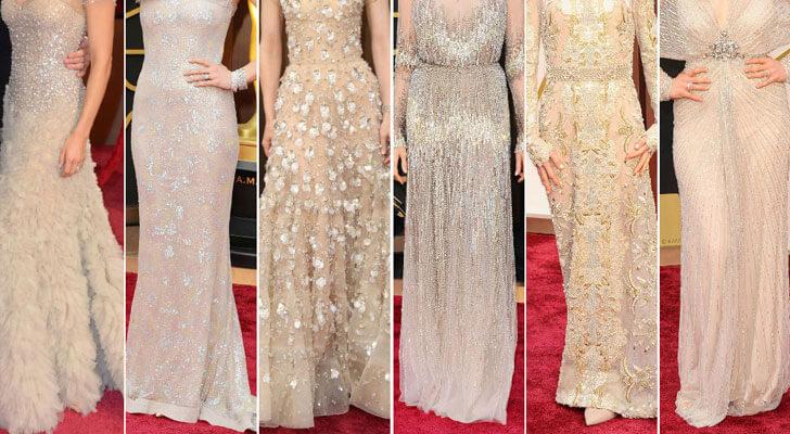 """oscars sparkly nude dresses indiaartndesign"""
