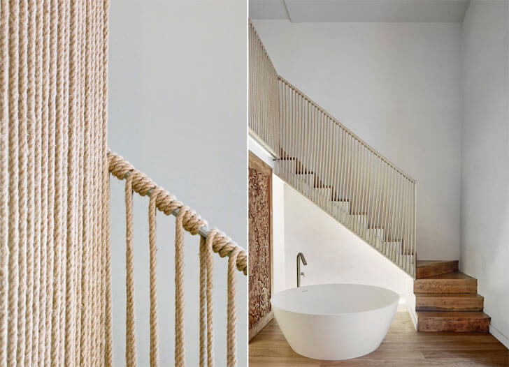 """hemp railing boutique hotel OHLAB indiaartndesign"""