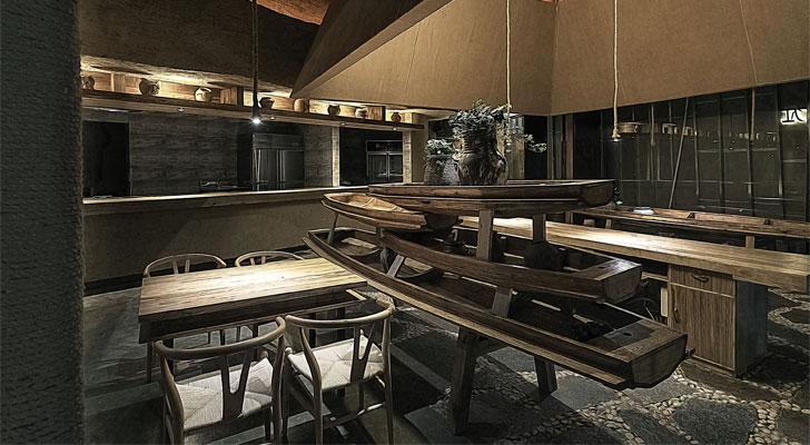 """pu zao restaurant Yiduan Shanghai Interior Design indiaartndesign"""