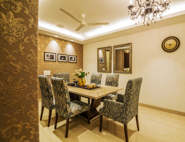 """dining room renesa architects indiaartndesign"""
