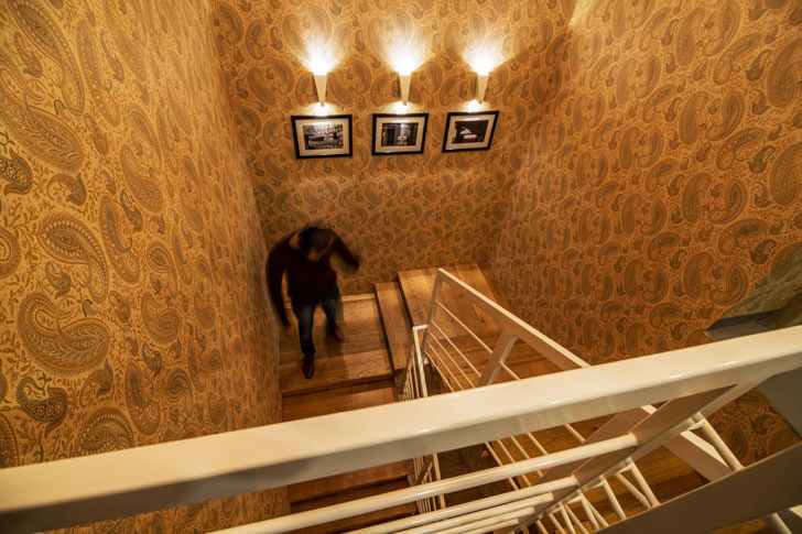 """paisley wallpaper renesa architects indiaartndesign"""