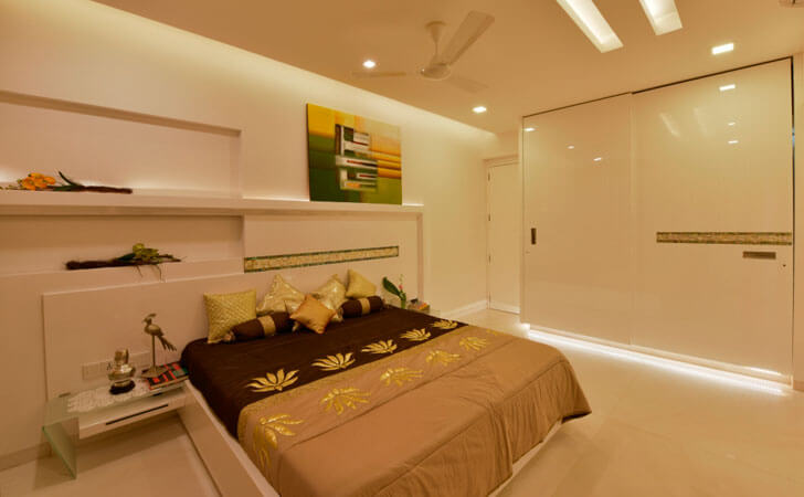 """cove lighting bedroom SSA design studio indiaartndesign"""