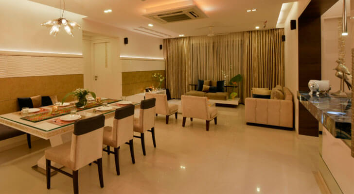 """living dining SSA design studio indiaartndesign"""