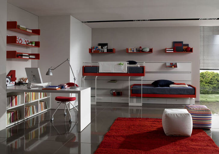 """bunk beds teen bedroom ideas indiaartndesign"""