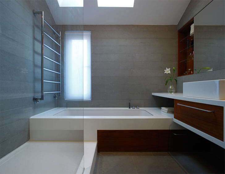 """Thompson Baroni Elm Grove luxurious bathroom indiaartndesign"""