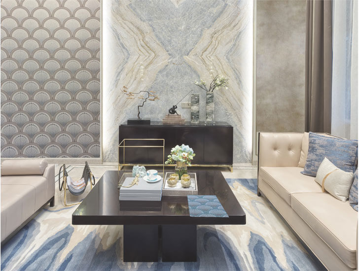 """HGH India home fashion trends wallpaper shroff indiaartndesign"""