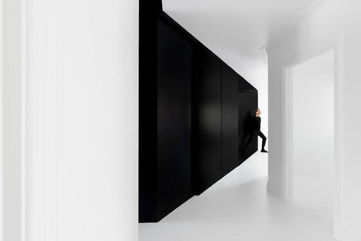 """monochrome walls jean verville IN2 indiaartndesign"""