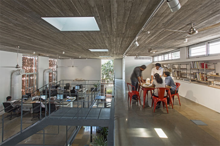 """KSM Architecture office two levels indiaartndesign"""