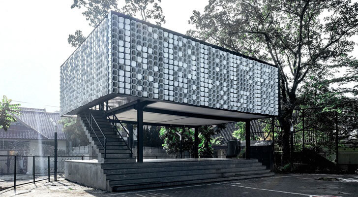 """micro library by day SHAU indiaartndesign"""