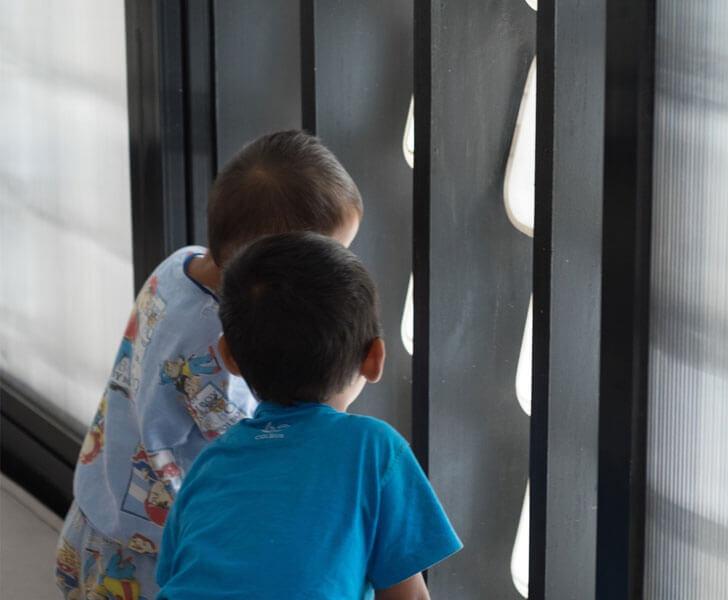 """""""micro library peering kids SHAU indiaartndesign"""""""