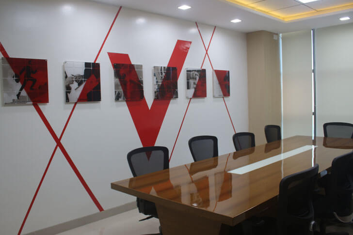 """conference room TUV India Spacetech Designs Indiaartndesign"""