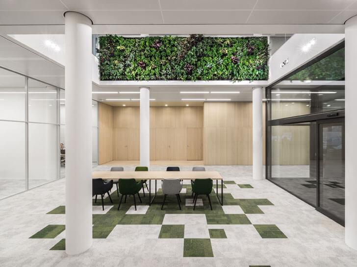 """""""green tiles flooring Schouw Informatisering i29 architecture indiaartndesign"""""""