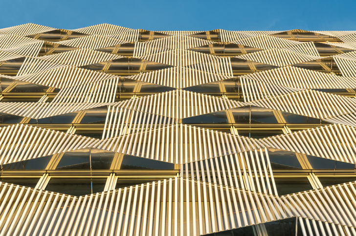 """be open paris building facade brenac gonzalez associates indiaartndesign"""