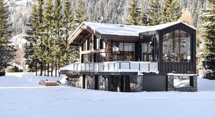 """Chevallier architects chalet whymper indiaartndesign"""