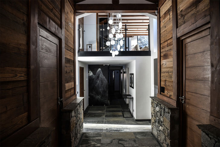 """Chevallier architects play of materials chalet whymper indiaartndesign"""