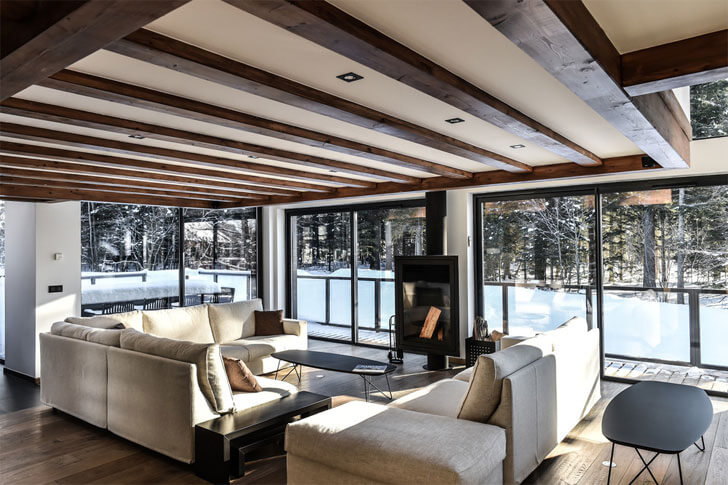 """Chevallier architects seamless view chalet whymper indiaartndesign"""