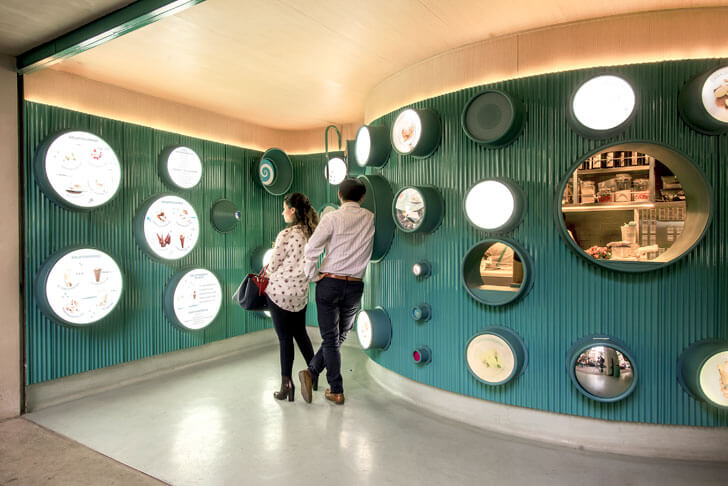 """integrated display gelatoscopio cadena architects indiaartndesign"""