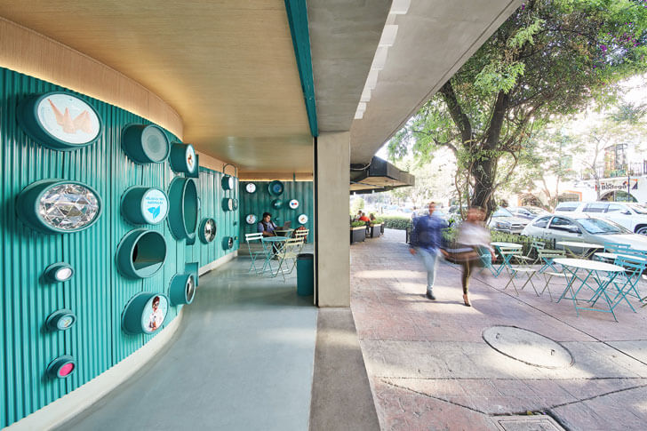 """street view gelatoscopio cadena architects indiaartndesign"""