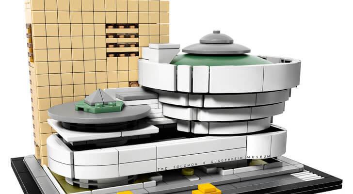 """LEGO Architecture series Guggenheim indiaartndesign"""