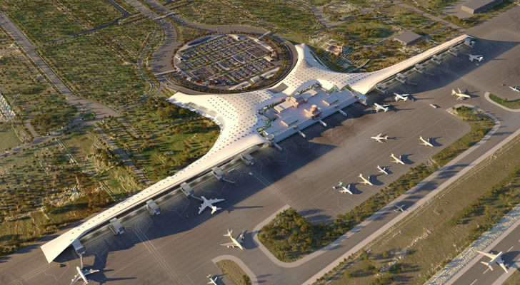 """""""GilBartolome Lahore Airport aerial view indiaartndesign"""""""