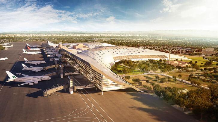 """GilBartolome Lahore Airport close up indiaartndesign"""