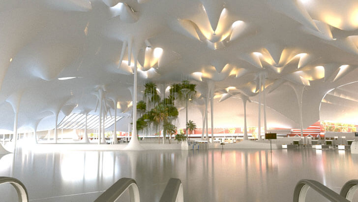 """GilBartolome Lahore Airport lighting indiaartndesign"""