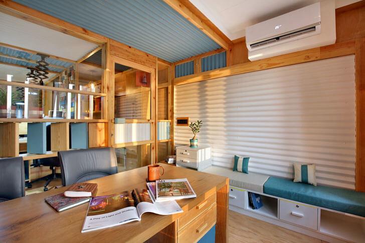 """""""vertical louvres Manoj Patel Design Studio indiaartndesign"""""""
