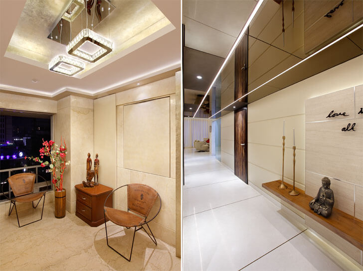 """Mahesh Punjabi Associates penthouse mirrored ceiling indiaartndesign"""