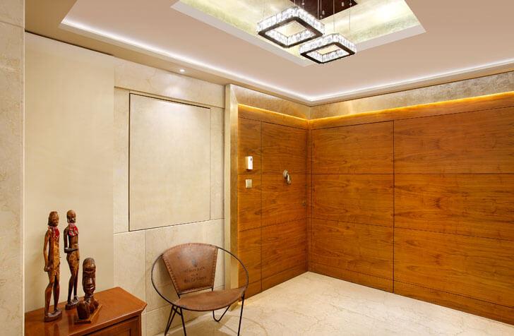 """Mahesh Punjabi Associates penthouse swarovski chandelier indiaartndesign"""