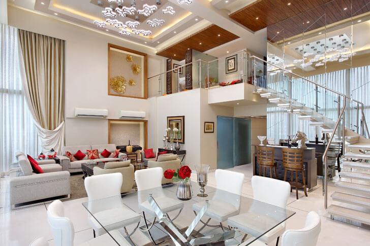 """Mahesh Punjabi Associates plush penthouse mumbai indiaartndesign"""