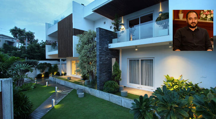 Courtyard house for Courtyard house designs india