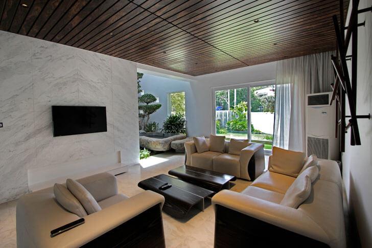 """""""living room ar niroop reddy courtyard house indiaartndesign"""""""