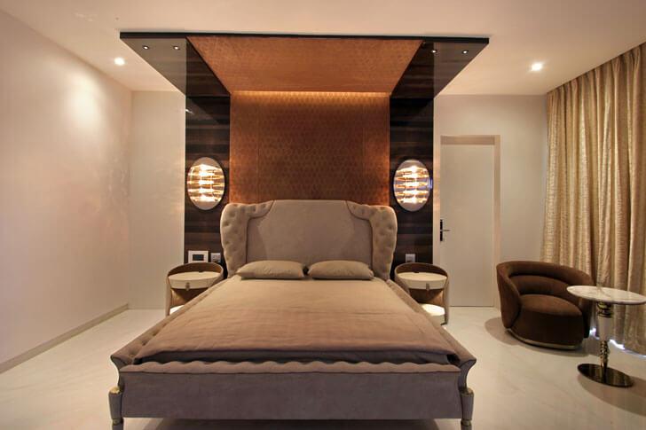 """""""master bedroom ar niroop reddy courtyard house indiaartndesign"""""""
