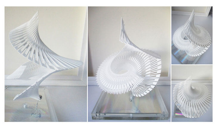 """""""seismic lighting expandable 3d printed net margot krasojevic indiaartndesign"""""""