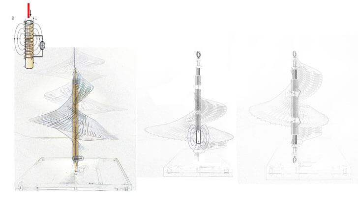 """seismic lighting function illustration margot krasojevic indiaartndesign"""