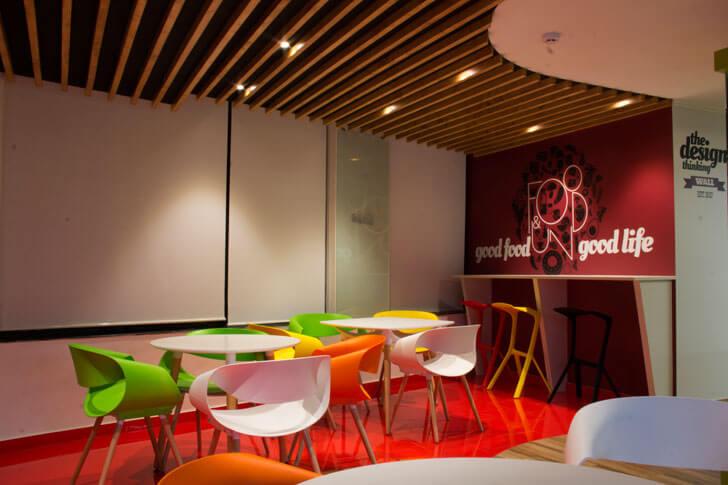 """cafeteria fractal ink design studio indiaartndesign"""
