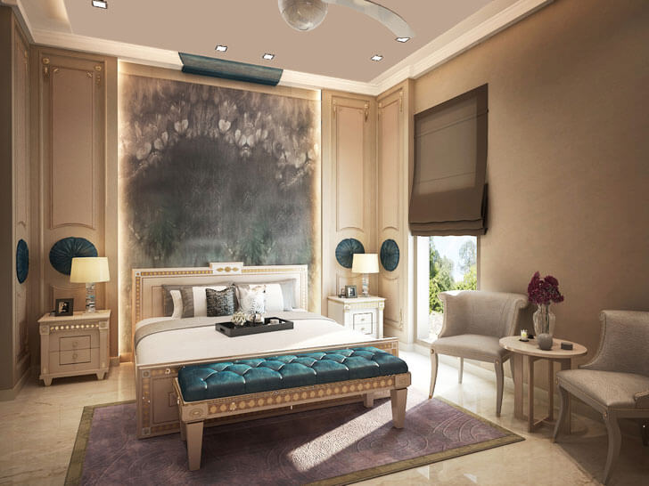 """bedroom ansa interiors indiaartndesign"""