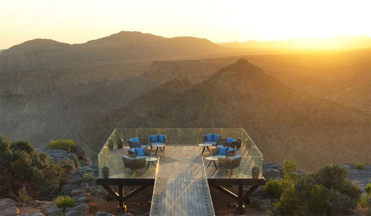 """Diana's point Atelier Pod Anantara Jabal Akhdar Resort indiaartndesign"""