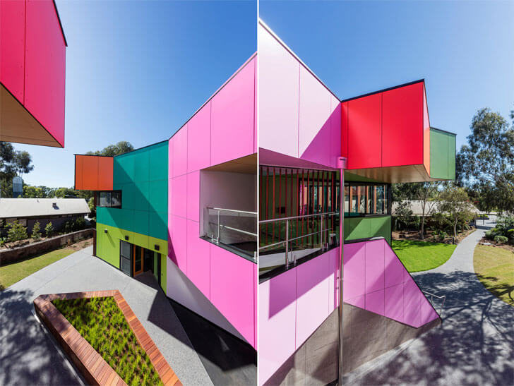 """Ivanhoe school MCR Architects indiaartndesign"""