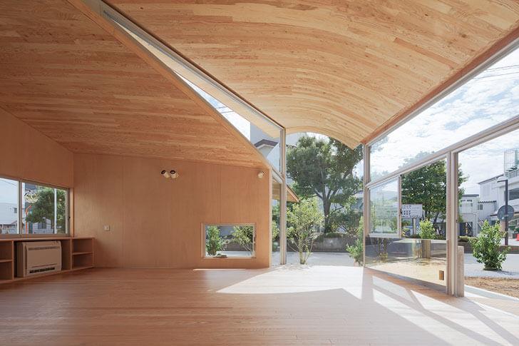 """wooden interiors Toranoko nursery Takashige Yamashita indiaartndesign"""
