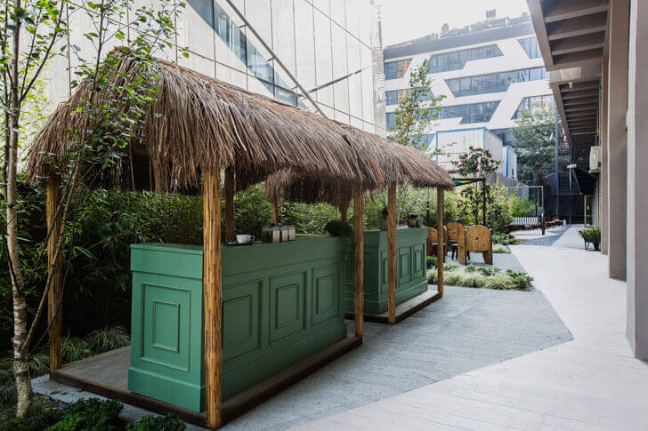 """oriented strand board roofs kolektif house kontra indiaartndesign"""