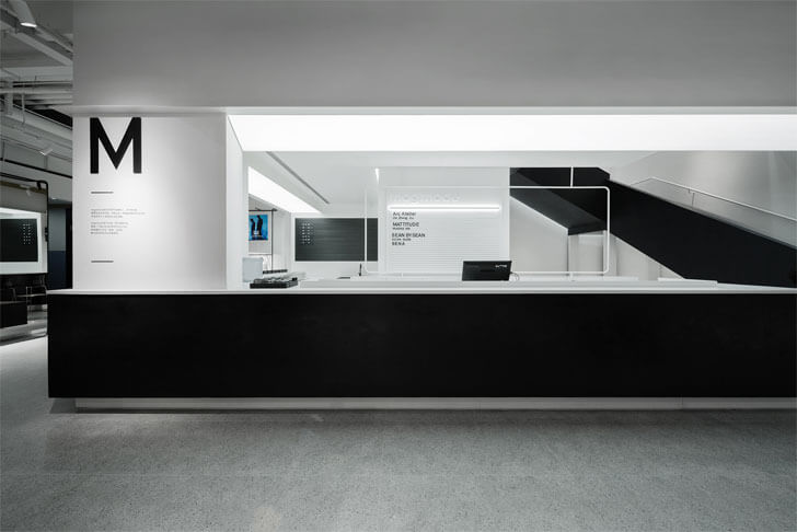 """counter with stairs magmode rigi design indiaartndesign"""